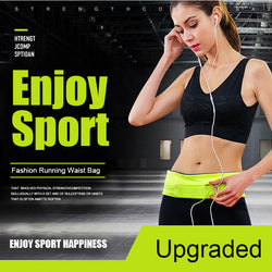 Unisex Running Waist Belt Sports Bag - Delivered Value