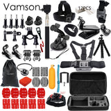 Vamson Gopro / Action Cam 56 Piece Accessories kit - Delivered Value