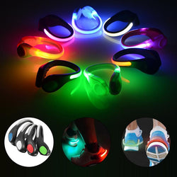 Bright LED Night Safety Shoe Clip For Running Cycling - Delivered Value