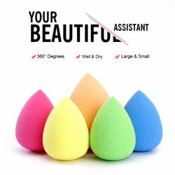 Cosmetic Makeup Sponge Foundation Powder Blending Puff *** FREE SHIPPING *** - Delivered Value
