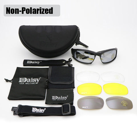 DeckYard X7 Bullet-Proof Military Polarized Sunglasses Goggles - Delivered Value