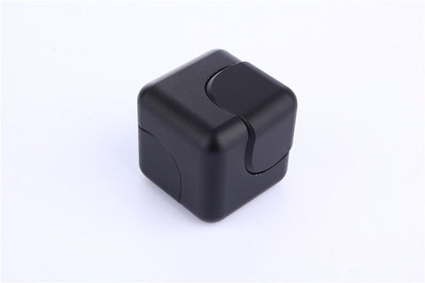 Fidget Cube 4x4x4cm Spinner High Quality Aluminium or Funky Plastic Styles *** FREE SHIPPING *** - Delivered Value