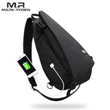 Crossbody Waterproof USB High Capacity Chest bag *** FREE SHIPPING *** - Delivered Value