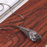 New Maxi Leaf Rhinestone Crystal Pendant Necklace *** FREE SHIPPING *** - Delivered Value