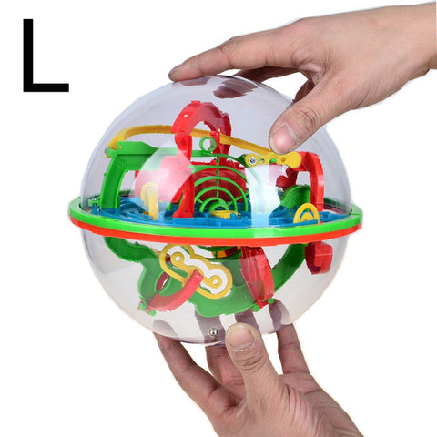 3D Labyrinth Magic Rolling Globe - Delivered Value