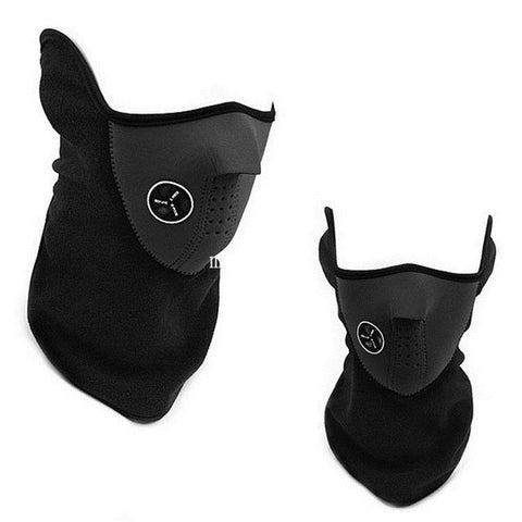 Windproof Neoprene Face Mask and Neck Warmer - Delivered Value