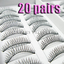 Natural False Eyelashes X 20 Pairs Style