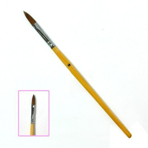 BF Professional Wood Acrylic Brush For Nail Art Tips Artificial Design Drawing Pen No#10 CODE: #411E