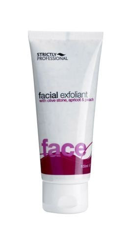 Strictly Professional Facial Exfoliant With Olive Stone Gradules 100ml