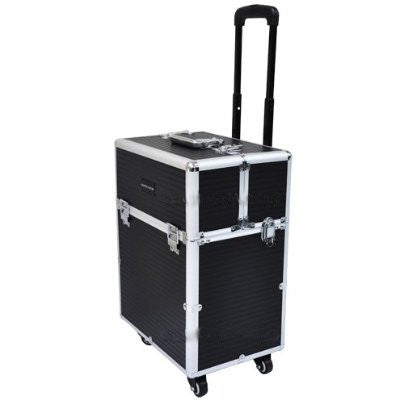All Directions Rolling Wheels and Reinforced Steel Corners Makeup Trolley Case (Tokyo Collections) CODE: #855