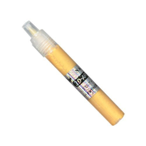 BF New Fine Tip Drawing / Design Pen Golden Yellow For Acrylic Nail Art Tips UV Gel CODE: #254GY