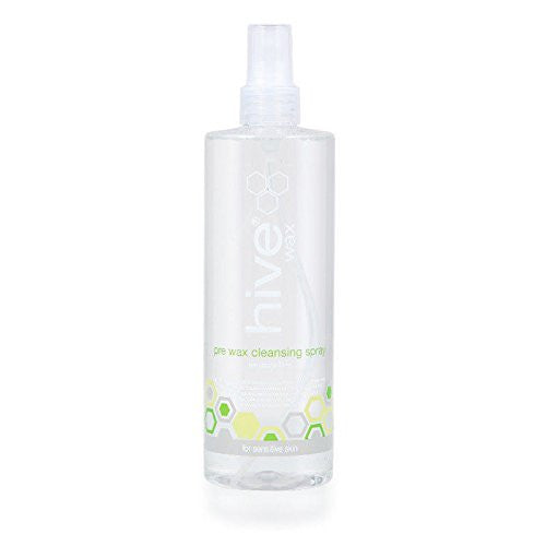 New Professional Hive Pre Wax Cleansing Spray With Coconut & Lime 400ml HOB1105