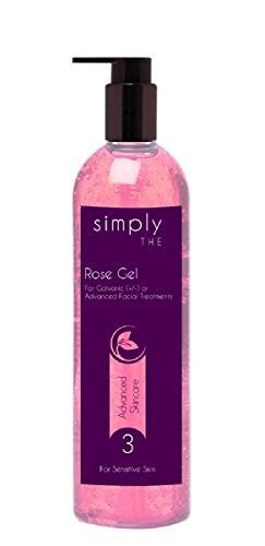 Hive of Beauty Rose Gel With Pump 500ml For Facial Massage Treatments CODE: SMP80992