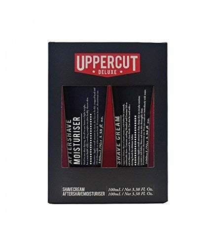 Uppercut Premium Quality Shave Cream & Aftershave Mens Face Moisturiser SCAS2