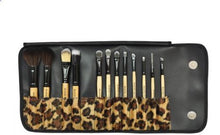 BF 12 pcs Makeup Brushes Cosmetic Set Eyebrow Make up Foundation Brush Tools African Leopard CODE: #177L