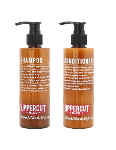 Uppercut Deluxe Men`s Hair Shampoo & Conditioner 250ml Each UHSC250ML