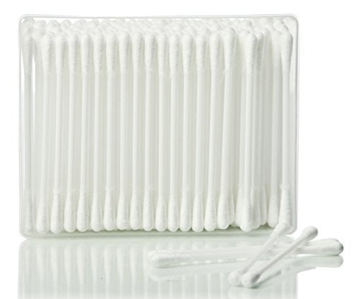 Hive 200X Pure Cotton Wool Buds Plastic Stems Cotton Swab Tip Applicator Ear Wax Remover Picks CODE: HBA0210