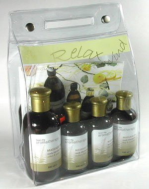 NATURES WAY - - AROMATHERAPY PRE BLENDED OIL KIT -