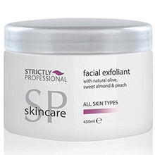 Strictly Professional Face Facial Exfoliant w Natural Olive, Sweet Almond & Peach Oil 450ml CODE: SPB4585