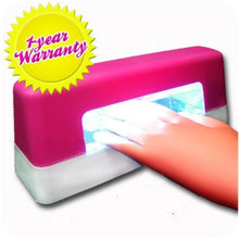 BF New Professional 9W UV Lamp Nail Art Dryer UV Gel Nail Curing Lamp Manicure Polish Gel Builder Pink Colour CODE: #78P