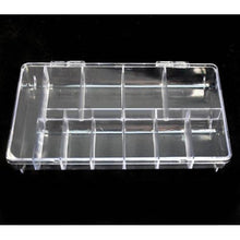 BF Empty Storage Box Case / Compartments For Acrylic Nail Art Gems Rhinestone Tool (11 Compartments)
