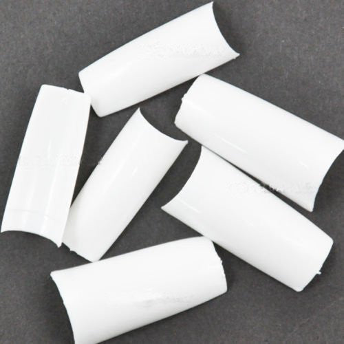 New 2000 Pcs White Acrylic French UV Gel False Nail Tips 10 Different Sizes CODE: 263