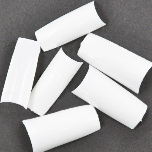 500 pcs New Professional French false nails for acrylic nail art tips design decoration White