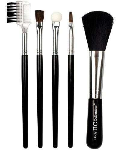Badgequo Body Collection 5 Piece Brush Set
