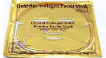 3 Pack - Gold Collagen Face Mask - Anti Aging, Wrinkles, Moisturising, Blemishes, Firming, Toning, Dark Circles, Smoothing Skin, Natural Lift