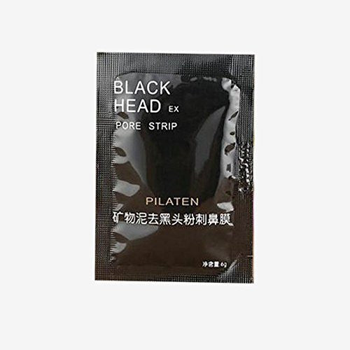 1x PILATEN Face Mask Acne Mud Pore Deep Cleansing Nose Strip Peel Blackhead Remover FM01