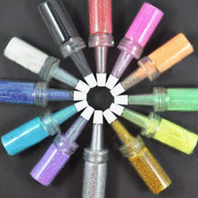 12 x Bottle Glitter Powder Dust CODE: #170