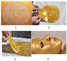 15 Pieces Gold Collagen Crystal Mask For Face Facial Anti Ageing Masks Face-Mask15