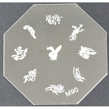 Nail Art Stamping Plate - M90 CODE: M90-Plate