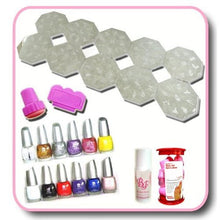 Full Stamping and Polish Kit CODE: #245