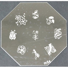 Nail Art Stamping Plate - M54 CODE: M54-Plate