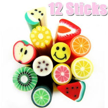 12 Sticks for DIY Fruit Slice Decoration CODE: #443