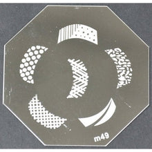 Nail Art Stamping Plate - M49 CODE: M49-Plate