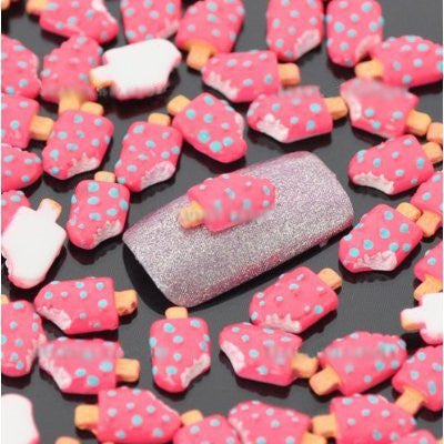 """Ice Lolly"" Nail Art Decoration x 100pcs CODE: #863C [COD..."