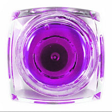 New Authentic Transparent Purple UV Gel Acrylic Nails Nail Art Tips Decoration Design UV Gel Builder