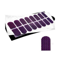 3D Nail Foil Sticker (Purple Night) CODE: #FF-Z009