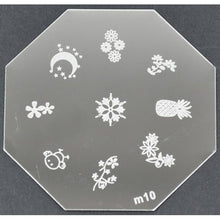 Nail Art Stamping Plate - M10 CODE: M10-Plate