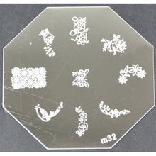 Nail Art Stamping Plate - M32 CODE: M32-Plate