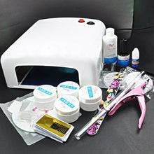 BF Professional 36W UV Gel White Lamp Dryer Nail Art Manicure TIPS SET KIT with Clipper