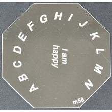 Nail Art Stamping Plate - M58 CODE: M58-Plate