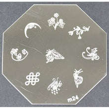Nail Art Stamping Plate - M24 CODE: M24-Plate