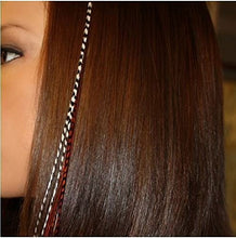 Feather Hair Extension TOOL SILICONE MICRO BEADS Crimp Beads - Brown Colour CODE: 987B