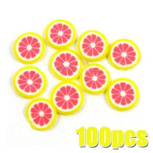 Fruit Slices 100pcs - GRAPEFRUIT CODE: #446