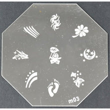 Nail Art Stamping Plate - M03 CODE: M03-Plate