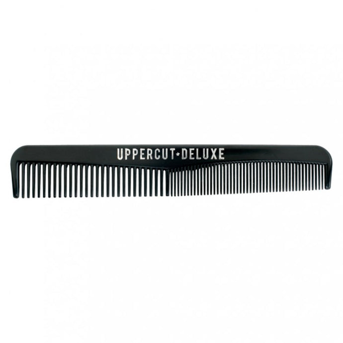 Uppercut Deluxe New Professional Barbers Men Comb Black Colour Wide Teeth Nice Clean Look Tough Plastic UBC01