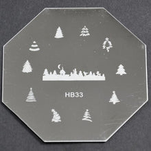 Nail Art Stamping Plate - HB33 CODE: HB33-Plate